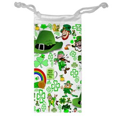 St Patrick s Day Collage Jewelry Bag