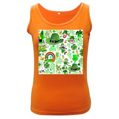 St Patrick s Day Collage Women s Tank Top (Dark Colored)