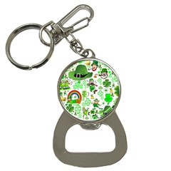 St Patrick s Day Collage Bottle Opener Key Chain