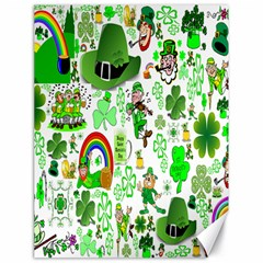 St Patrick s Day Collage Canvas 18  x 24  (Unframed)