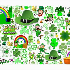 St Patrick s Day Collage Canvas 20  x 24  (Unframed)