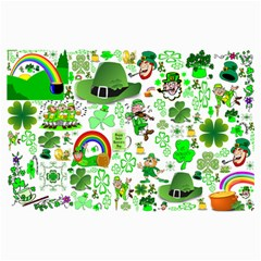 St Patrick s Day Collage Canvas 36  X 48  (unframed)