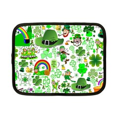 St Patrick s Day Collage Netbook Sleeve (Small)