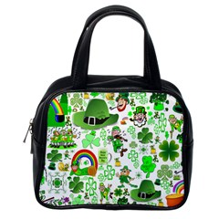 St Patrick s Day Collage Classic Handbag (One Side)