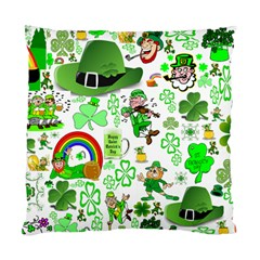 St Patrick s Day Collage Cushion Case (Two Sided)