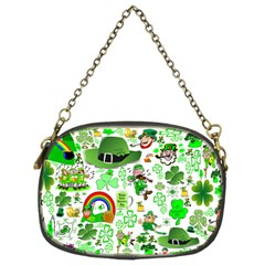 St Patrick s Day Collage Chain Purse (two Sided)