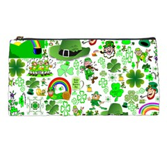 St Patrick s Day Collage Pencil Case
