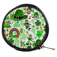 St Patrick s Day Collage Mini Makeup Case