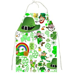 St Patrick s Day Collage Apron