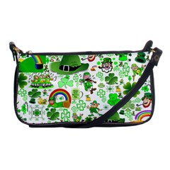 St Patrick s Day Collage Evening Bag