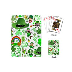 St Patrick s Day Collage Playing Cards (Mini)