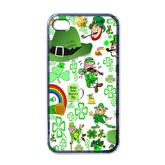 St Patrick s Day Collage Apple iPhone 4 Case (Black)