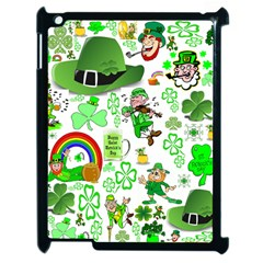 St Patrick s Day Collage Apple iPad 2 Case (Black)