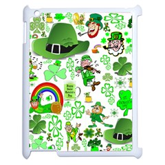 St Patrick s Day Collage Apple Ipad 2 Case (white)