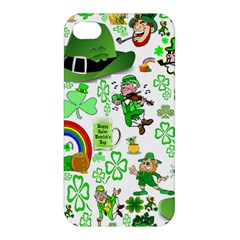 St Patrick s Day Collage Apple Iphone 4/4s Hardshell Case