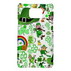 St Patrick s Day Collage Samsung Galaxy S II i9100 Hardshell Case
