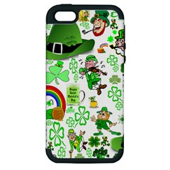 St Patrick s Day Collage Apple iPhone 5 Hardshell Case (PC+Silicone)