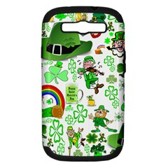 St Patrick s Day Collage Samsung Galaxy S III Hardshell Case (PC+Silicone)