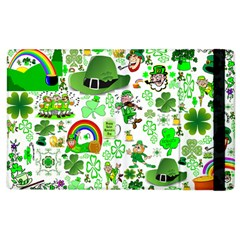 St Patrick s Day Collage Apple iPad 2 Flip Case