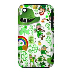 St Patrick s Day Collage Apple iPhone 3G/3GS Hardshell Case (PC+Silicone)