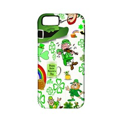 St Patrick s Day Collage Apple Iphone 5 Classic Hardshell Case (pc+silicone)