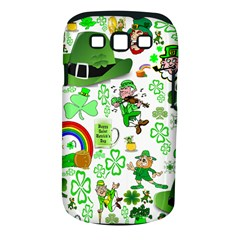 St Patrick s Day Collage Samsung Galaxy S III Classic Hardshell Case (PC+Silicone)