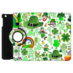 St Patrick s Day Collage Apple Ipad Mini Flip 360 Case