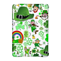 St Patrick s Day Collage Apple Ipad Mini Hardshell Case (compatible With Smart Cover)