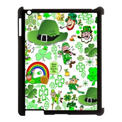 St Patrick s Day Collage Apple iPad 3/4 Case (Black)