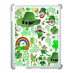 St Patrick s Day Collage Apple Ipad 3/4 Case (white)