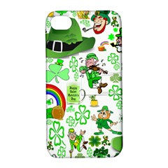 St Patrick s Day Collage Apple iPhone 4/4S Hardshell Case with Stand