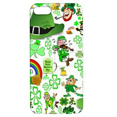 St Patrick s Day Collage Apple Iphone 5 Hardshell Case With Stand