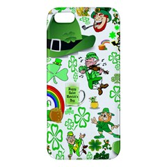 St Patrick s Day Collage iPhone 5 Premium Hardshell Case
