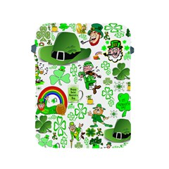 St Patrick s Day Collage Apple Ipad Protective Sleeve