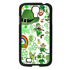 St Patrick s Day Collage Samsung Galaxy S4 I9500/ I9505 Case (black)