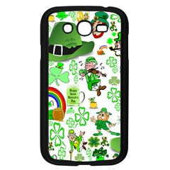 St Patrick s Day Collage Samsung Galaxy Grand DUOS I9082 Case (Black)