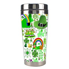 St Patrick s Day Collage Stainless Steel Travel Tumbler