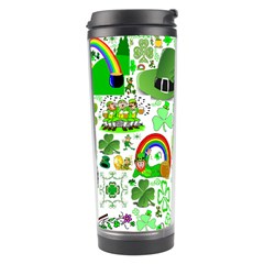St Patrick s Day Collage Travel Tumbler