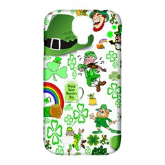 St Patrick s Day Collage Samsung Galaxy S4 Classic Hardshell Case (PC+Silicone)