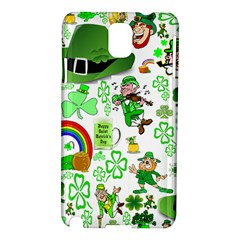 St Patrick s Day Collage Samsung Galaxy Note 3 N9005 Hardshell Case