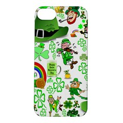 St Patrick s Day Collage Apple iPhone 5S Hardshell Case