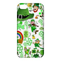 St Patrick s Day Collage Apple Iphone 5c Hardshell Case