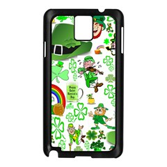 St Patrick s Day Collage Samsung Galaxy Note 3 Case (black)