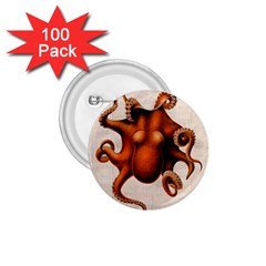 Here There Be Monsters 1.75  Button (100 pack)