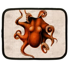 Here There Be Monsters Netbook Sleeve (Large)