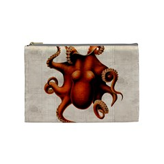Here There Be Monsters Cosmetic Bag (Medium)
