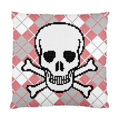 Ugly Skull Sweater Cushion Case (two Sided)