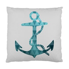Chevron Anchor Cushion Case (Single Sided)