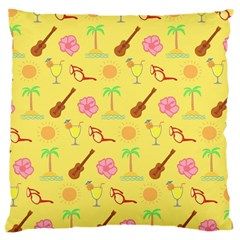Summer Time Large Cushion Case (two Sided)