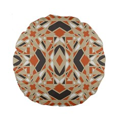 Geocolor 15  Premium Round Cushion